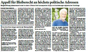 Pressespiegel Bürgerstiftung Lebensraum Aachen