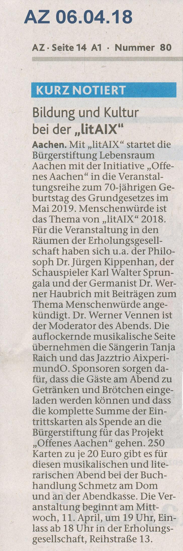 Offenes aachen 2 0 b rgerstiftung lebensraum aachen for Spiegel 06 2018